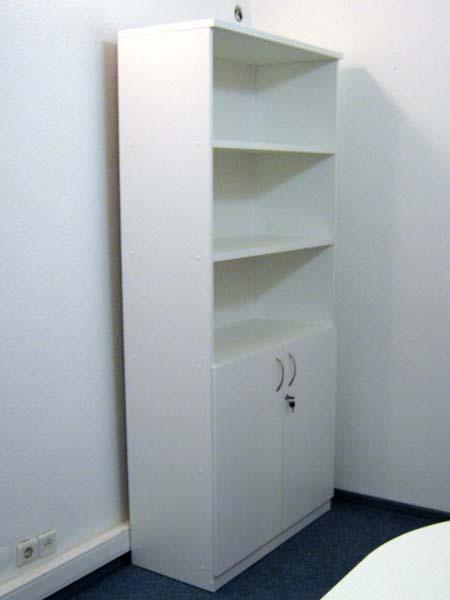 Белая мебель в офис