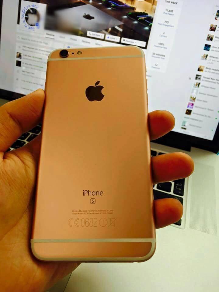 IPhone 6S Plus Gold..500