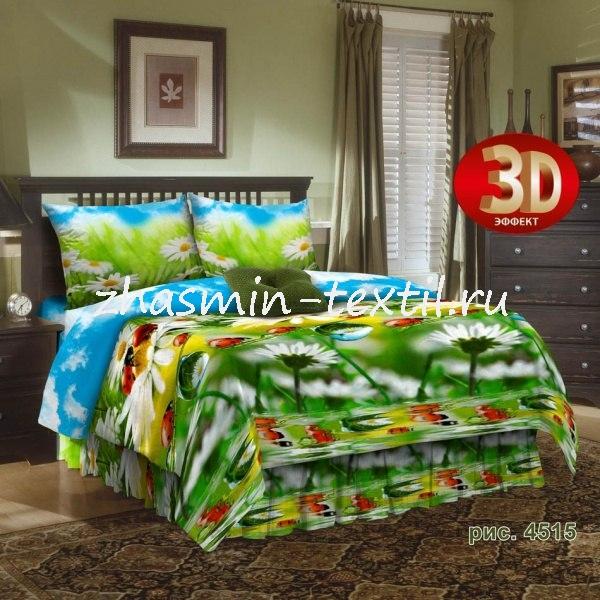Постельное белье Жасмин 3D