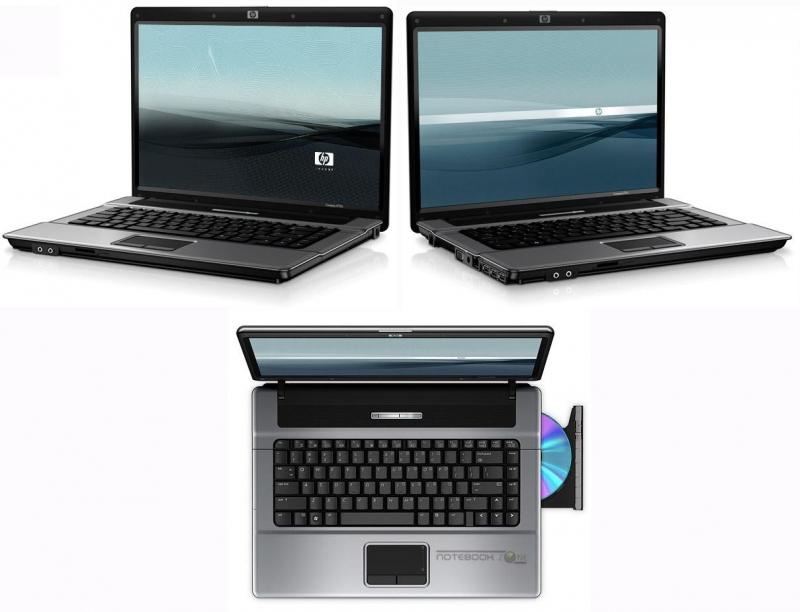 Ноубуки HP Compag 6720s 3 шт. разные