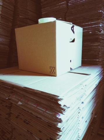 Сток Гофротара, коробки картонные бу для переезда, отправки товара. Рошен