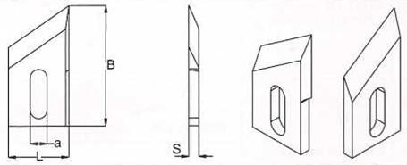 Производим ножи шипорезные длиной от 60 мм