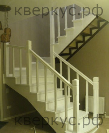 Дуб, бук, ясень элементы лестниц, лестницы на заказ