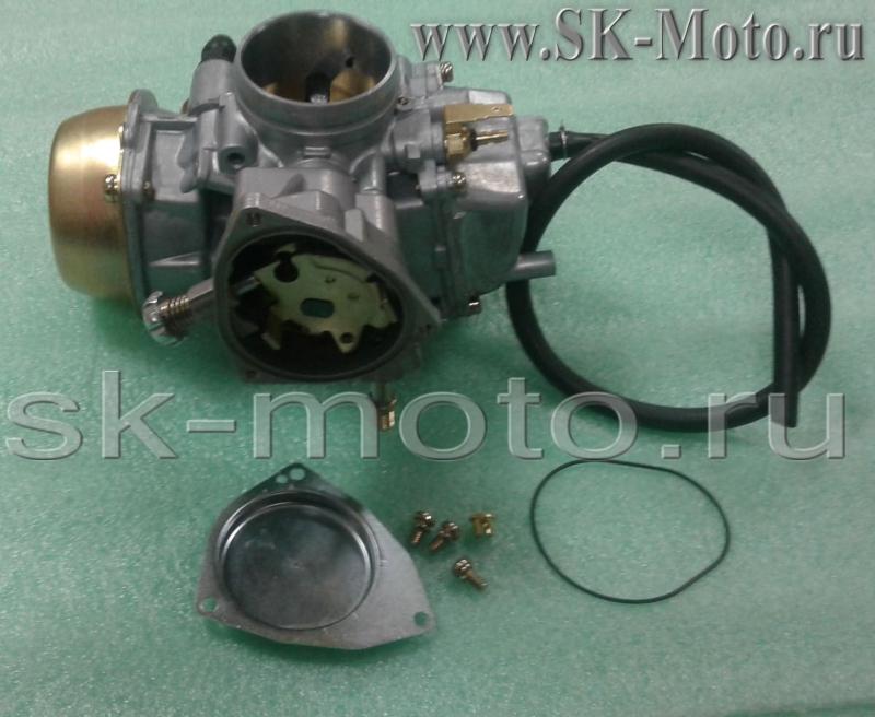 Продаю карбюратор PD42J-A в сборе для квадроцикла Stels Hisun АРТ. 16100-F39-0000