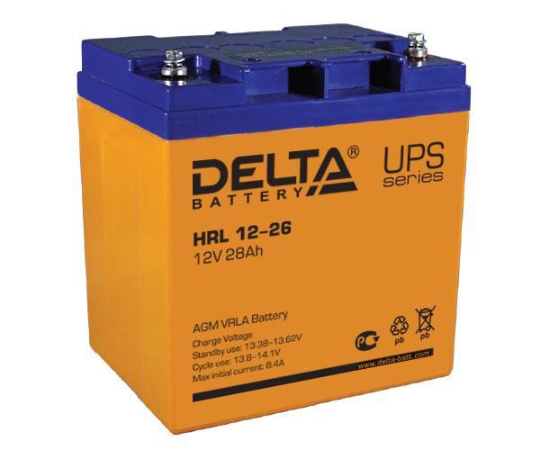 Аккумуляторная батарея для ИБП Delta HRL 12-26