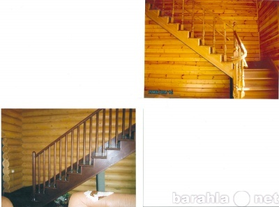 Дубовые лестницы  в Москве, цены - договорные