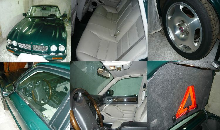 Jaguar XJR II X300  Темно зеленый.