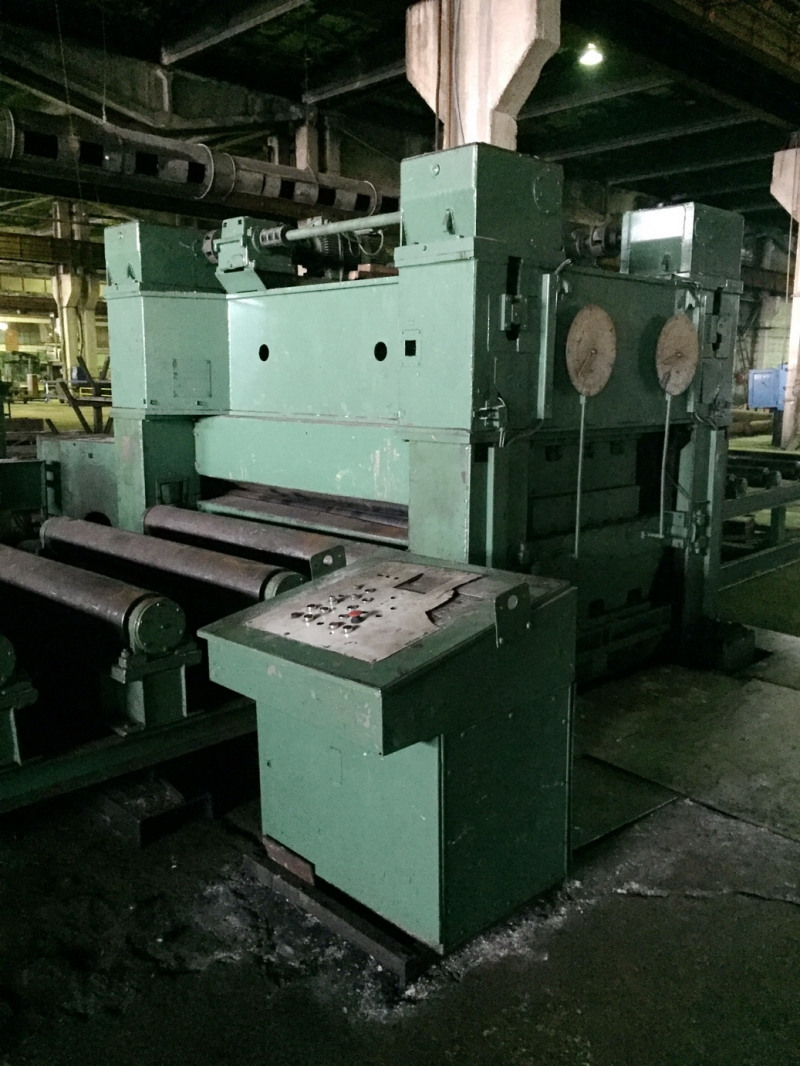 Листоправильная машина UBR40 Листоправильная машина UBR32x2500-716 ...
