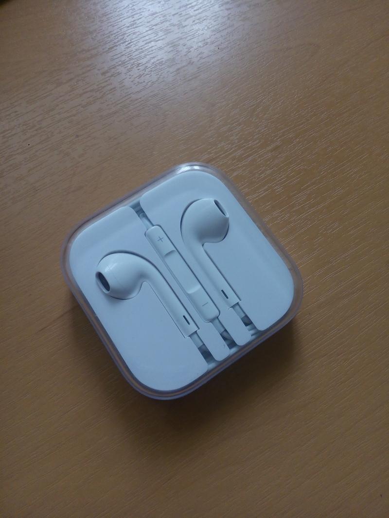 Новые Оригинальные наушники Apple EarPods