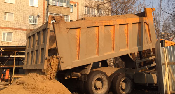 Карьерный песок, Щебень гранитный, Отсев,Чернозем, Вывоз грунта