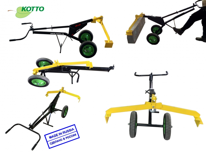 Захват-транспортр для дорожного бордюра ZT-100