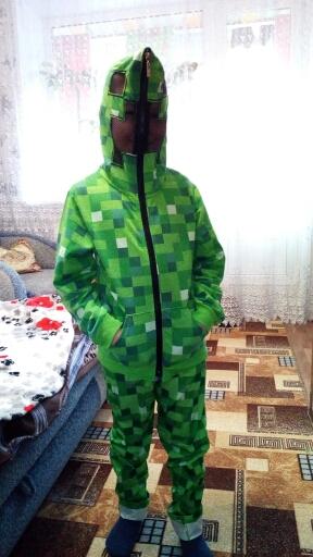 Спортивный костюм Крипер из игры майнкрафт от PENIVAIZ Имеются размеры в рост