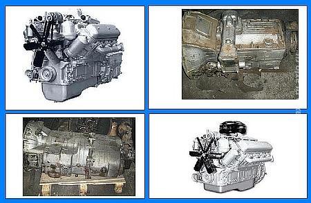 Двигатель ЯМЗ-236, ЯМЗ-238  с хранения