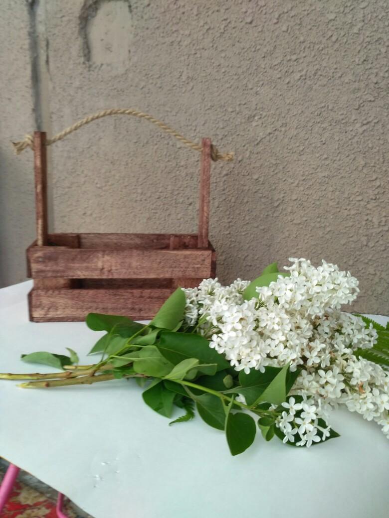 Ящик для цветов и подарков от производителя