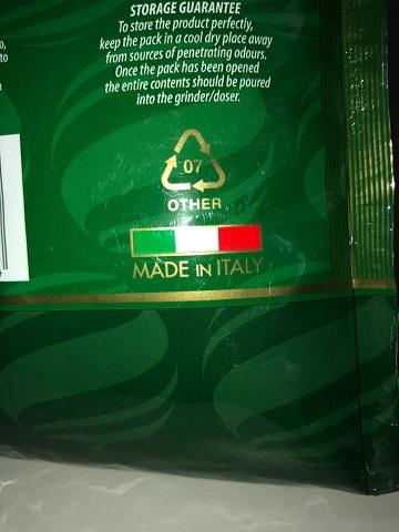 Кофе зерновой Италия Carraro Globo Verde 5050 опт и розн