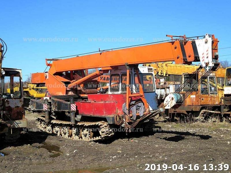 Гусеничный кран УЛЬЯНОВЕЦ МКТ-25.9, 2011 г, 2800 мч