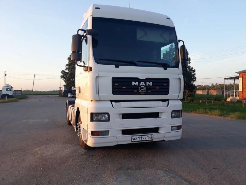 Продается грузовик MAN TGA, 2007 г, XXL