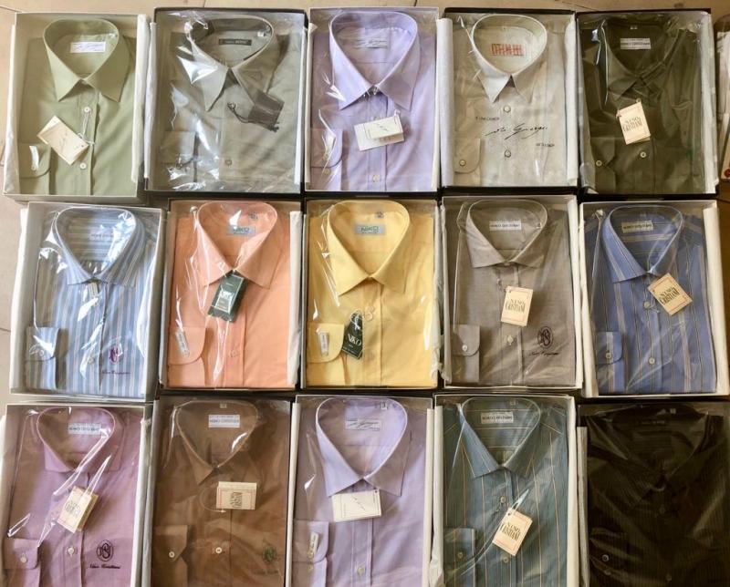 Мужские рубашки оптом made in Italy