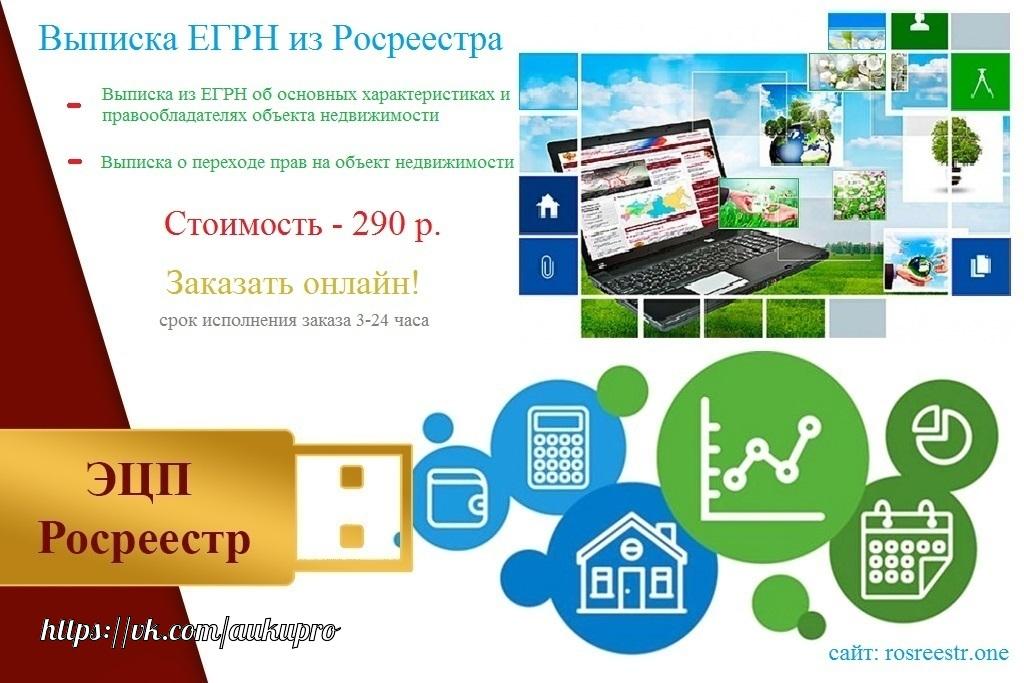 Интернет ресурс получения выписки из ЕГРП Росреестра